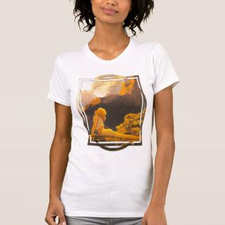 Wild Geese on White T-Shirt
