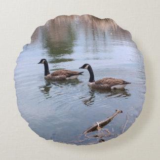 Wild Geese Pillow Round Pillow