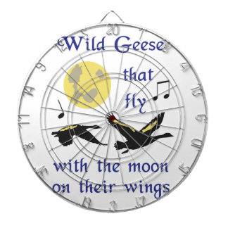 Wild Geese That Fly Dartboards