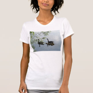 Wild Geese Womens Casual Scoop T-Shirt