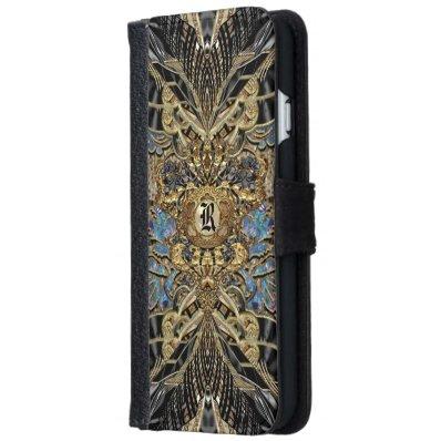 Wild Gene 6/6s Monogram Wallet Phone Case For iPhone 6/6S