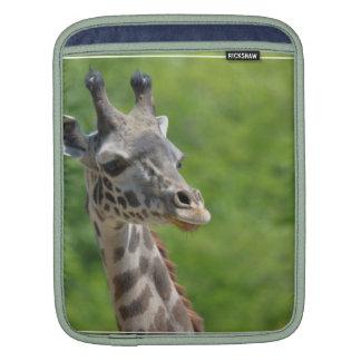 Wild Giraffe iPad Sleeve