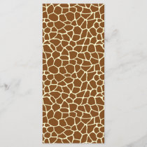 Wild Giraffe Pattern Animal Print