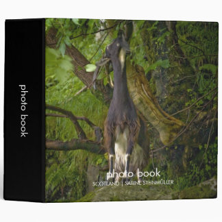 Wild Goat Photo Book 3 Ring Binder