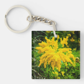Wild Goldenrod Keychain