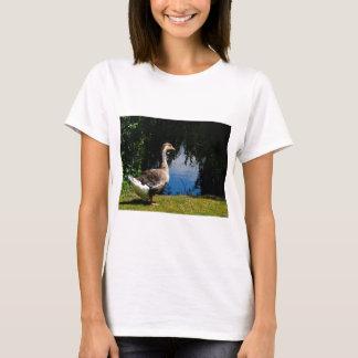 Wild Goose at Duck Pond T-Shirt