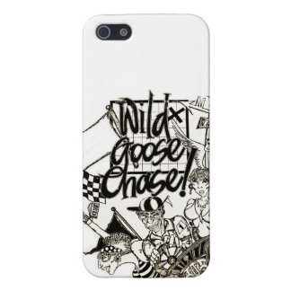 """""""Wild Goose Chase"""" iPhone 5 Cases"""
