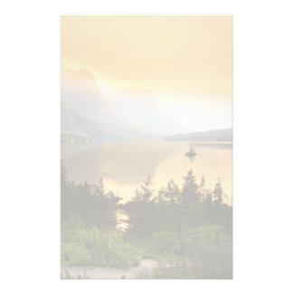Wild goose island in Glacier national park Stationery