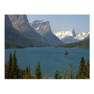Wild Goose Island Montana Post Card