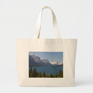 Wild Goose Island On St Mary Lake In Glacier Natio Bags