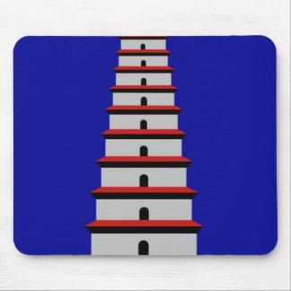 Wild Goose Pagoda Mouse Pad