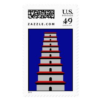 Wild Goose Pagoda Postage