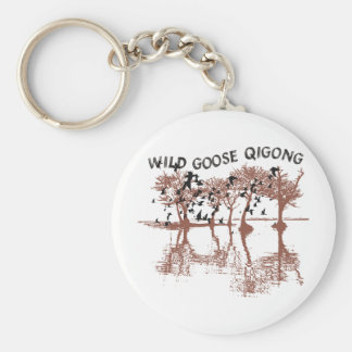 Wild Goose Qigong Keychain