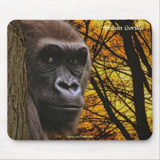 Wild Gorilla Endangered Species Primate Mousepad