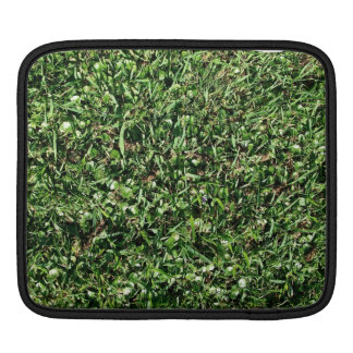 Wild grass and clover texture iPad sleeve