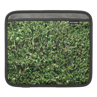 Wild grass and clover texture sleeve for iPads