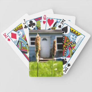 Wild Grass Bicycle Playing Cards