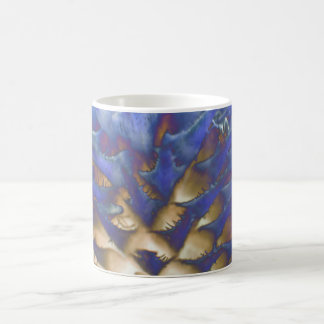 Wild Grass Blue Flame Mug