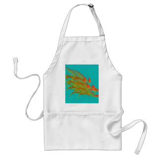 Wild Grass in Water Adult Apron