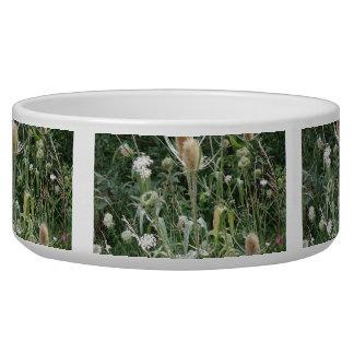 Wild Grasses Dog Bowl