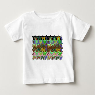 Wild Green Jungle Baby T-Shirt