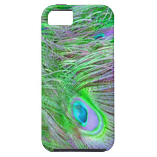 Wild Green Peacock Feathers iPhone SE/5/5s Case