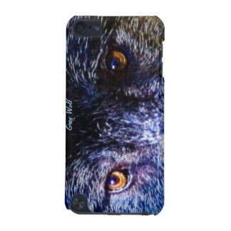Wild Grey Wolf Eyes Artwork Wildlife Ipod Case iPod Touch 5G Cover