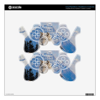 Wild Grey Wolf Wildlife-Supporter Skin Skins For PS3 Controllers