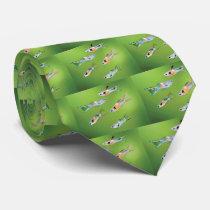 Wild Guppies Tie
