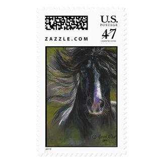 Wild Gypsy Horse Postage Stamp