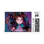 Wild Hair Day by Mr SelfConstruct Postage Stamp
