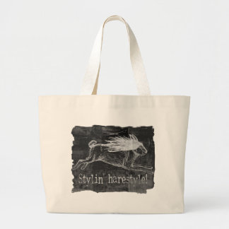 Wild Hare Hare Large Tote Bag