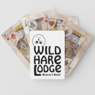 Wild Hare Lodge playing cards
