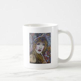 WILD HEART ANGEL CLASSIC WHITE COFFEE MUG