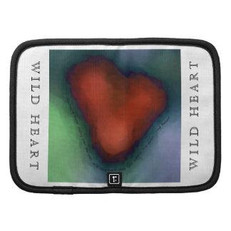 WILD HEART Folio with lyrics Planner