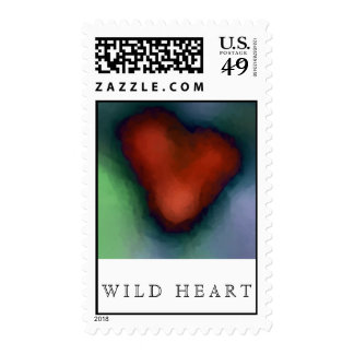 WILD HEART Postage - Matching Card!