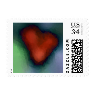 WILD HEART Small Postcard Postage - Matching Card!