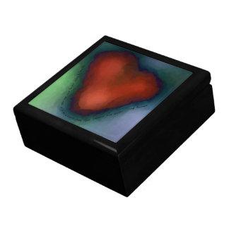 WILD HEART with lyrics tile-top wood box Keepsake Boxes