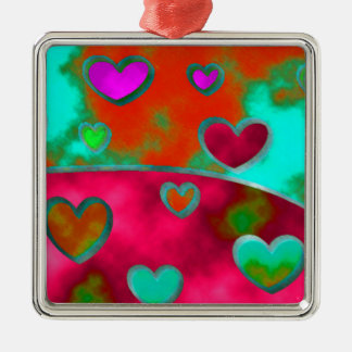 Wild Hearts!! Metal Ornament