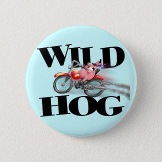 Wild HOG! Button