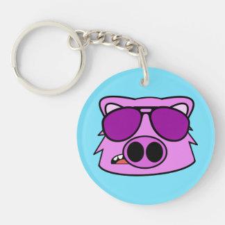 Wild Hog Keychain
