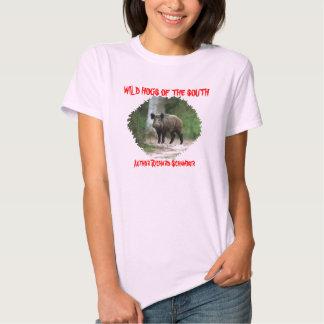 Wild Hog of the South, Author Richard Schamber, T Shirt