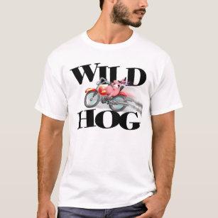 motor t shirts t shirt design printing zazzle Chevelle Frame wild hog t shirt