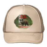 Wild Hogs Of The South,Author Richard Schamber Mesh Hat