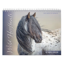 Wild Hoofbeats: Wild Horses of Wyoming Calendar