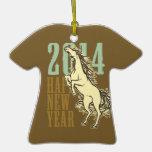 Wild Horse(2014) Christmas Tree Ornament