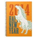Wild Horse (2014 New Year) Note Books