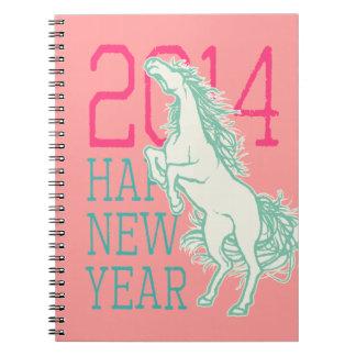 Wild Horse (2014 New Year) Notebook