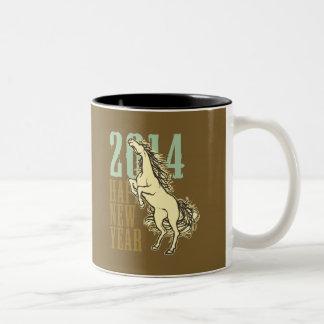 Wild Horse(2014) Two-Tone Coffee Mug