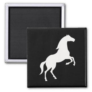 Wild Horse 2 Inch Square Magnet